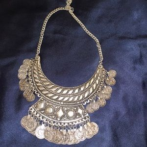 Jewelry - Vintage Afghan necklace filled w/ amazing details